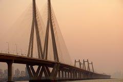 Γέφυρα το βράδυ Στοκ εικόνα με δικαίωμα ελεύθερης χρήσης