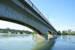 Γέφυρα τραίνων Στοκ Φωτογραφίες