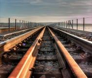 Γέφυρα τραίνων Στοκ φωτογραφία με δικαίωμα ελεύθερης χρήσης