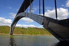 γέφυρα τσέχικα μακριά Στοκ φωτογραφία με δικαίωμα ελεύθερης χρήσης