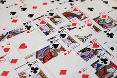 Γέφυρα των καρτών στοκ εικόνες