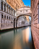 Γέφυρα των στεναγμών και Doge ` s του παλατιού στη Βενετία Ιταλία Στοκ εικόνες με δικαίωμα ελεύθερης χρήσης