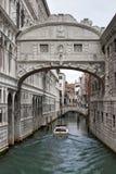 Γέφυρα των στεναγμών (dei Sospiri Ponte) Στοκ Εικόνες