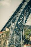 Γέφυρα των DOM Luiz στο Πόρτο, Πορτογαλία Στοκ εικόνες με δικαίωμα ελεύθερης χρήσης