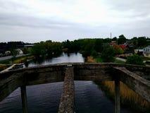 γέφυρα υψηλή Στοκ Εικόνες