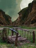 Γέφυρα φαντασίας Στοκ φωτογραφία με δικαίωμα ελεύθερης χρήσης