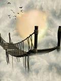 Γέφυρα φαντασίας ελεύθερη απεικόνιση δικαιώματος