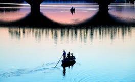 γέφυρα Φλωρεντία arno πέρα από τ&o στοκ εικόνα
