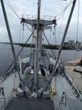 Γέφυρα φορτηγών πλοίων Στοκ Φωτογραφία