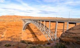 Γέφυρα φραγμάτων φαραγγιών του Glen, Αριζόνα, ΗΠΑ Στοκ φωτογραφία με δικαίωμα ελεύθερης χρήσης