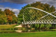 γέφυρα φτερωτή Στοκ Εικόνα