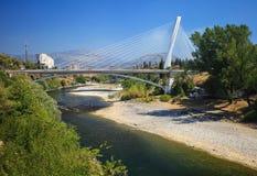 Γέφυρα χιλιετίας σε Podgorica Στοκ εικόνες με δικαίωμα ελεύθερης χρήσης