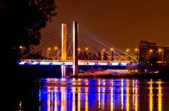 Γέφυρα χιλιετίας σε Wroclaw, Πολωνία Στοκ Εικόνες