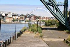 Γέφυρα χιλιετίας Στοκ Φωτογραφία