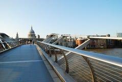 Γέφυρα χιλιετίας Στοκ Εικόνα