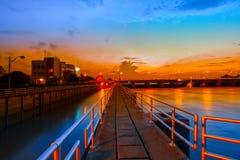 Γέφυρα - χτισμένη δομή, χτισμένη δομή, δρόμος, εποχή, καλοκαίρι, στοκ φωτογραφίες