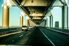 γέφυρα Όουκλαντ κόλπων Στοκ Φωτογραφία