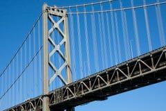 γέφυρα Όουκλαντ κόλπων Στοκ Εικόνες