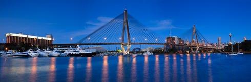 Γέφυρα 45 Anzac πανοραμική λήψη Στοκ εικόνα με δικαίωμα ελεύθερης χρήσης