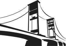Γέφυρα Ampera Στοκ φωτογραφίες με δικαίωμα ελεύθερης χρήσης