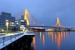 Γέφυρα Aomori Στοκ φωτογραφία με δικαίωμα ελεύθερης χρήσης