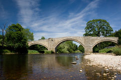 Γέφυρα Appletreewick, κοιλάδες του Γιορκσάιρ Στοκ εικόνα με δικαίωμα ελεύθερης χρήσης