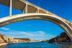 Γέφυρα Arrabida στο Πόρτο Πορτογαλία Στοκ Εικόνες