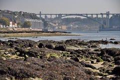 Γέφυρα Arrabida του Πόρτο Στοκ φωτογραφία με δικαίωμα ελεύθερης χρήσης