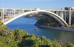 Γέφυρα Arrabida Στοκ φωτογραφία με δικαίωμα ελεύθερης χρήσης