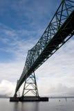 γέφυρα astoria megler Στοκ Εικόνες