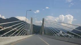 Γέφυρα Azad Kashnir Muzafarabad Στοκ φωτογραφίες με δικαίωμα ελεύθερης χρήσης