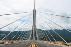 Γέφυρα baluarte στοκ φωτογραφίες
