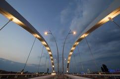 Γέφυρα Basarab, Βουκουρέστι, Ρουμανία Στοκ φωτογραφία με δικαίωμα ελεύθερης χρήσης