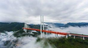 Γέφυρα Beipanjiang Στοκ φωτογραφία με δικαίωμα ελεύθερης χρήσης