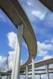 γέφυρα bhumibol Στοκ Φωτογραφία