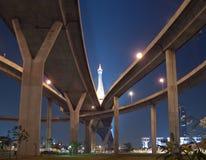 γέφυρα bhumibol Στοκ Εικόνες