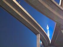 γέφυρα bhumibol Στοκ εικόνα με δικαίωμα ελεύθερης χρήσης