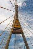 γέφυρα bhumibol Στοκ Φωτογραφίες