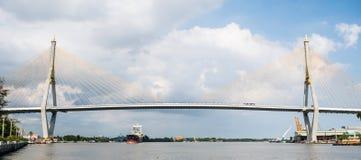 Γέφυρα Bhumibol Στοκ Εικόνα