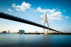 Γέφυρα Bhumibol Στοκ φωτογραφίες με δικαίωμα ελεύθερης χρήσης