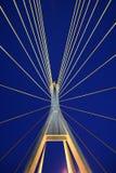 Γέφυρα Bhumibol Στοκ φωτογραφία με δικαίωμα ελεύθερης χρήσης