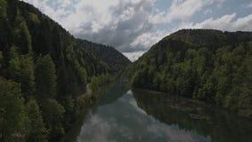 Γέφυρα Biaufond απόθεμα βίντεο