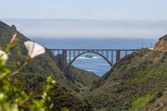 Γέφυρα Bixby, Καλιφόρνια Στοκ φωτογραφία με δικαίωμα ελεύθερης χρήσης