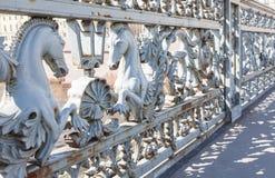 Γέφυρα Blagoveshchensky ιππόκαμπων Στοκ Εικόνες