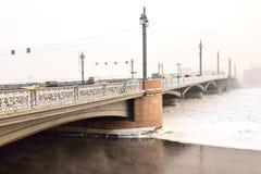 Γέφυρα Blagoveshchensky (Annunciation) Στοκ Εικόνες