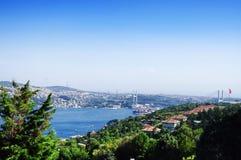 Γέφυρα Bosphorus στη Ιστανμπούλ Στοκ Φωτογραφίες