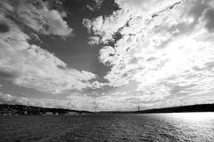 Γέφυρα Bosphorus Στοκ φωτογραφίες με δικαίωμα ελεύθερης χρήσης