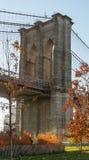 Γέφυρα Brooklin Στοκ εικόνα με δικαίωμα ελεύθερης χρήσης