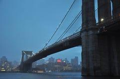 Γέφυρα Brooklynn Στοκ Εικόνες