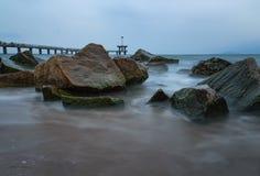 Γέφυρα Burgas, Βουλγαρία Στοκ εικόνα με δικαίωμα ελεύθερης χρήσης